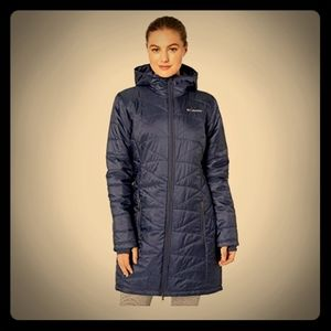 Columbia Nocturnal Navy Omniheat Jacket 2X